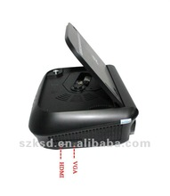 hd hdmi projector with 2400 lumens, above 20000hrs. good be using in home, education, business