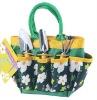 convertible garden beach shopping bag with tool pockets