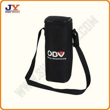 Polyester cooler bag wine cooler bag with strap solar cooler bag