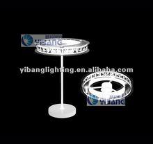 2012 modern LED table lamp ,crystal shade MT 0601A-300R