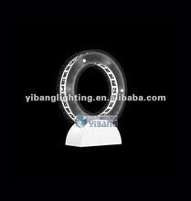 2012 modern LED table lamp ,crystal shade MT 120601C