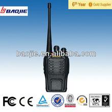 Mini Size Measurers 110*55*34mm Portable Dab Radio Phone Walkie Talkie Handsfree Walkie Talkie BJ-A66