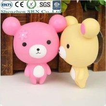 lovely vinyl bear figure toys 2012