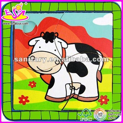 4 rebanada rompecabezas vaca-Puzle-Identificación del producto ...