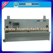 Hydraulic metal cutter closed loop hydraulic, cnc controller encoder, cnc hydraulic punch & shear machine