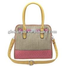 Lady Handbag 2012 Popular Girls Using Fashionable Genuine Leather Handbags Wholesale