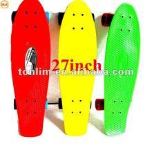 SHARK Original 2012 Penny Banana Nickel Board Skateboard Cruiser 27