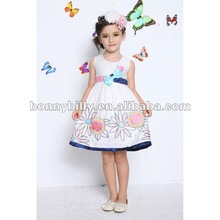 2012 summer collection eco-friendly baby girl frock maxi