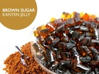 brown sugar agar jelly