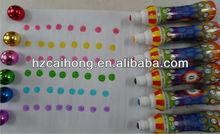 Hot-selling Game australia bingo dauber Pen with glitter cap CH-2809