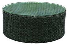 Rattan Wicker Round Coffee Table Furniture