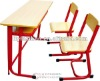 University/School Furniture double student desk and chair