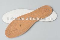 full length shoe cushion cork sole
