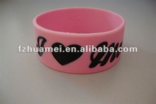 Silicon bracelets, promotional gift