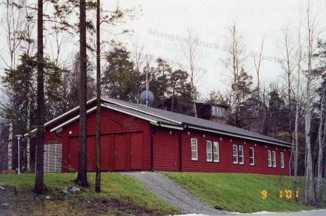 CE steel villa