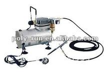 Portable Piston AC Mini Air Compressor airbrush make up pump DH18K-1(CE/GS/ETL)