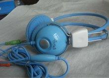 Sanxin Blue fashion headphone 2012 with microphone