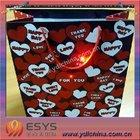 LED music bag, flashing bag, bag with music and flashing light /gift bag/paper bag