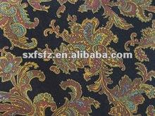 2012 new style first class cotton print velveteen fabric