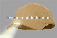 5-LED Clip-On Cap Hat Light - Hands-Free Flashlight - Includes 2 Sets Lithium Batteries - Lifetime Warranty