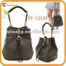 ladies fashion genuine leather handbags unique design golf ball
