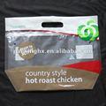 grau alimentício frango assado de sacos de embalagem