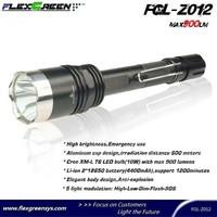 rechargable 18650 battery T6 java flashlight