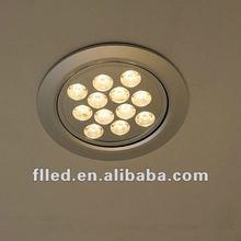 2012 popular led office ceiling light fixture 12w