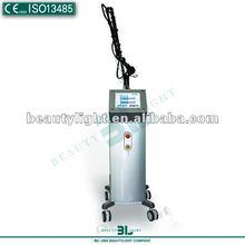 Fractional rf co2 laser medical scanning machine