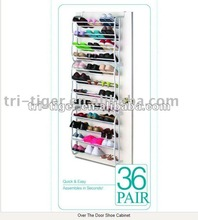 36-Pair Shoe Rack Hanging Door