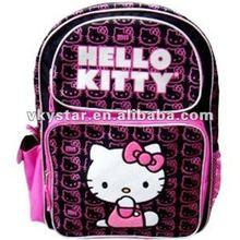 Fashion girls hello kitty school bags 2012