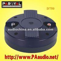 D750 audio speaker
