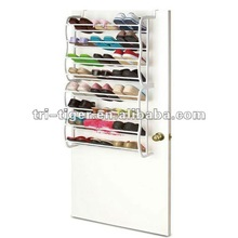 24 Pair Wall Mounted Shoe Racks