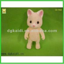 Plastic mini cat figures for kid