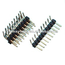 Hirose right angle pin header connector 2.54mm pitch