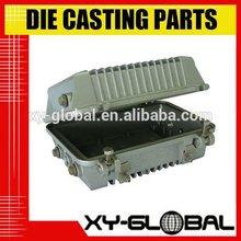 aluminum die casting parts telecommunication box