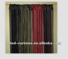 cheap black string curtain