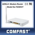 4port 54m wireless adsl2+ wireless router miniadsl modem router