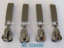 2013 new fashion auto-lock metal zipper slider for garments jeans