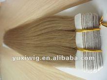 Hot Selling Human Hair Glue Tape Skin Weft