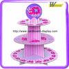 corrugated cardboard cupcake stand cartoon design