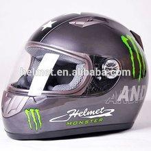 AD-711 blue full face helmet/ motorcycle racing helmets/ abs motorcycle helmet
