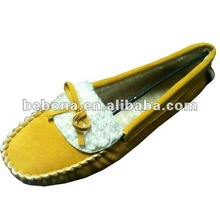 2012 fashion women casual mocassin shoes