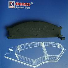 Non- Asbestos Sem-metallic Brake Pad for Nissan Terrano Parts