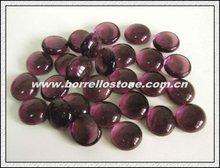 Decorative Flat Glass Beads