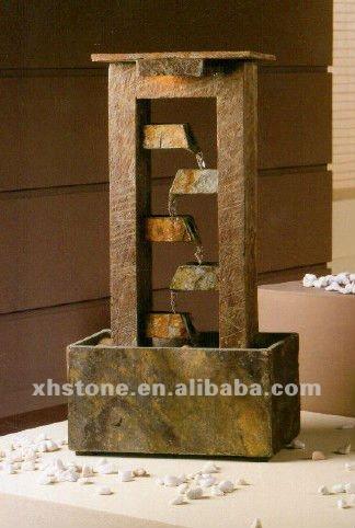 Caliente venta decorativa de interior moderna fuentes 24 - Fuentes de pared modernas ...