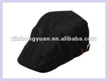 winter fashion man black blank hat