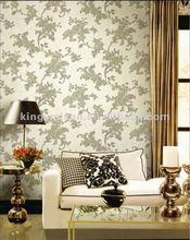 beauty flower wallpaper design for interior decoration
