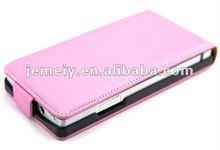 Flip Genuine Leather case for SONY Xpreia S LT26i
