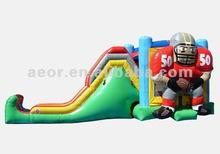 2012 New-design inflatable Jump Slide II Football for sale